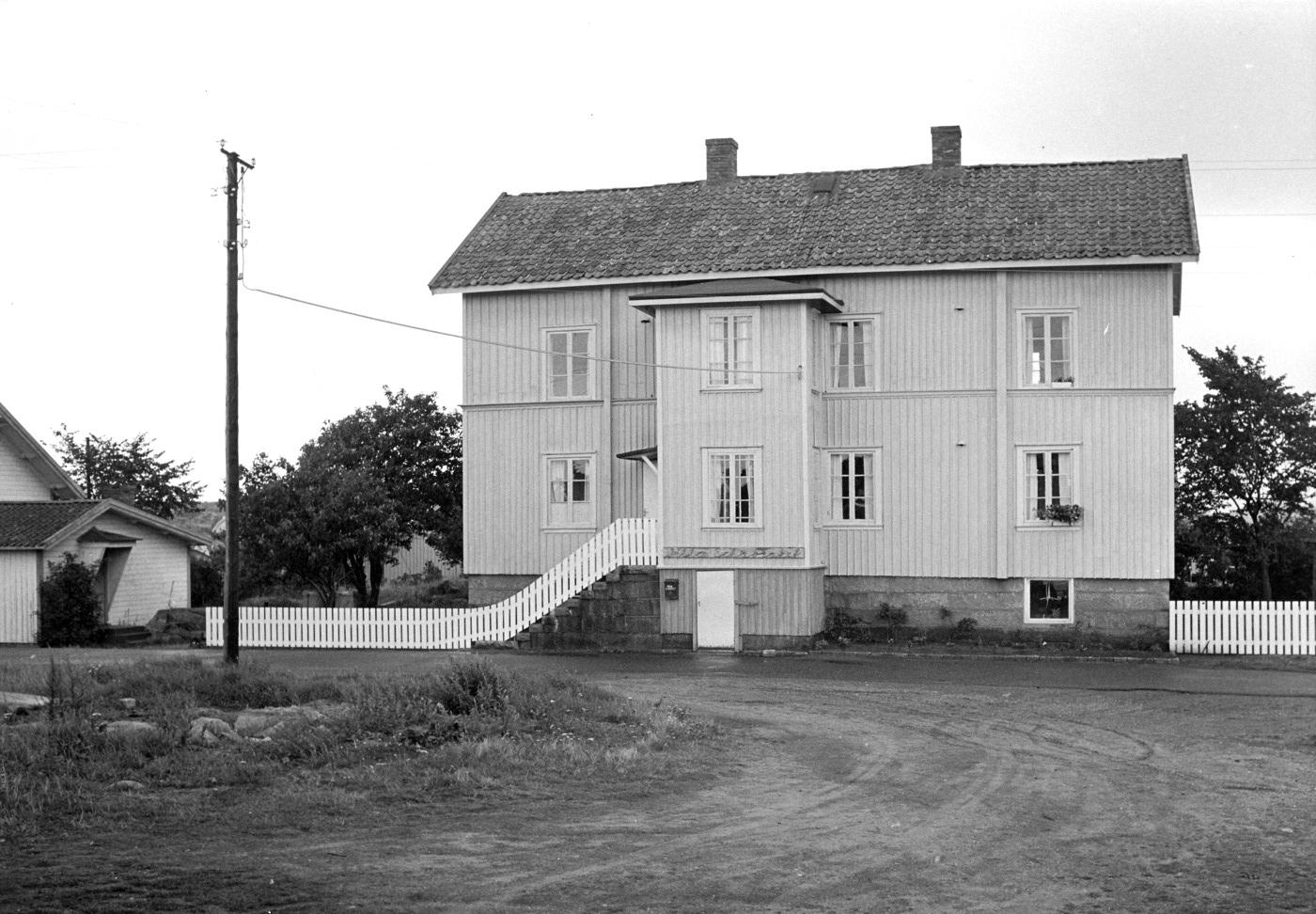 Foto Claes Funck 1968. Villa Schabraket. Första privata ägaren var lärare från Gävle.