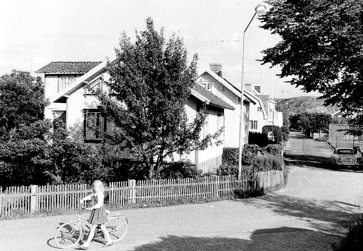 Foto Claes Funck. Korsningen Strandvägen Tennisvägen.