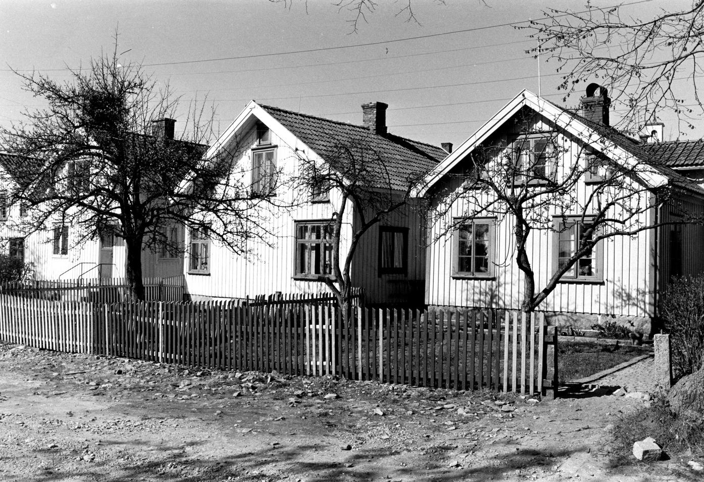 Foto Claes Funck 1970. Hus Strandvägen.