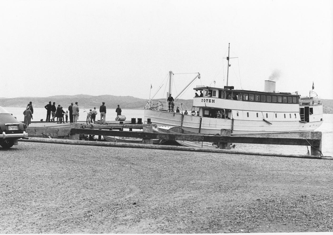 Foto Claes Funck. Soten lägger till april 1963.