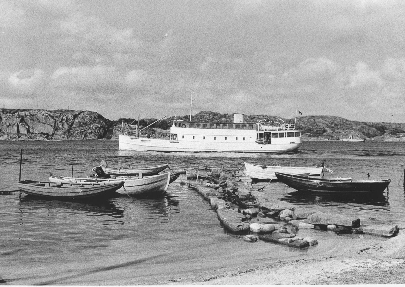 Foto Claes Funck. Soten i Stallerännan 1967.
