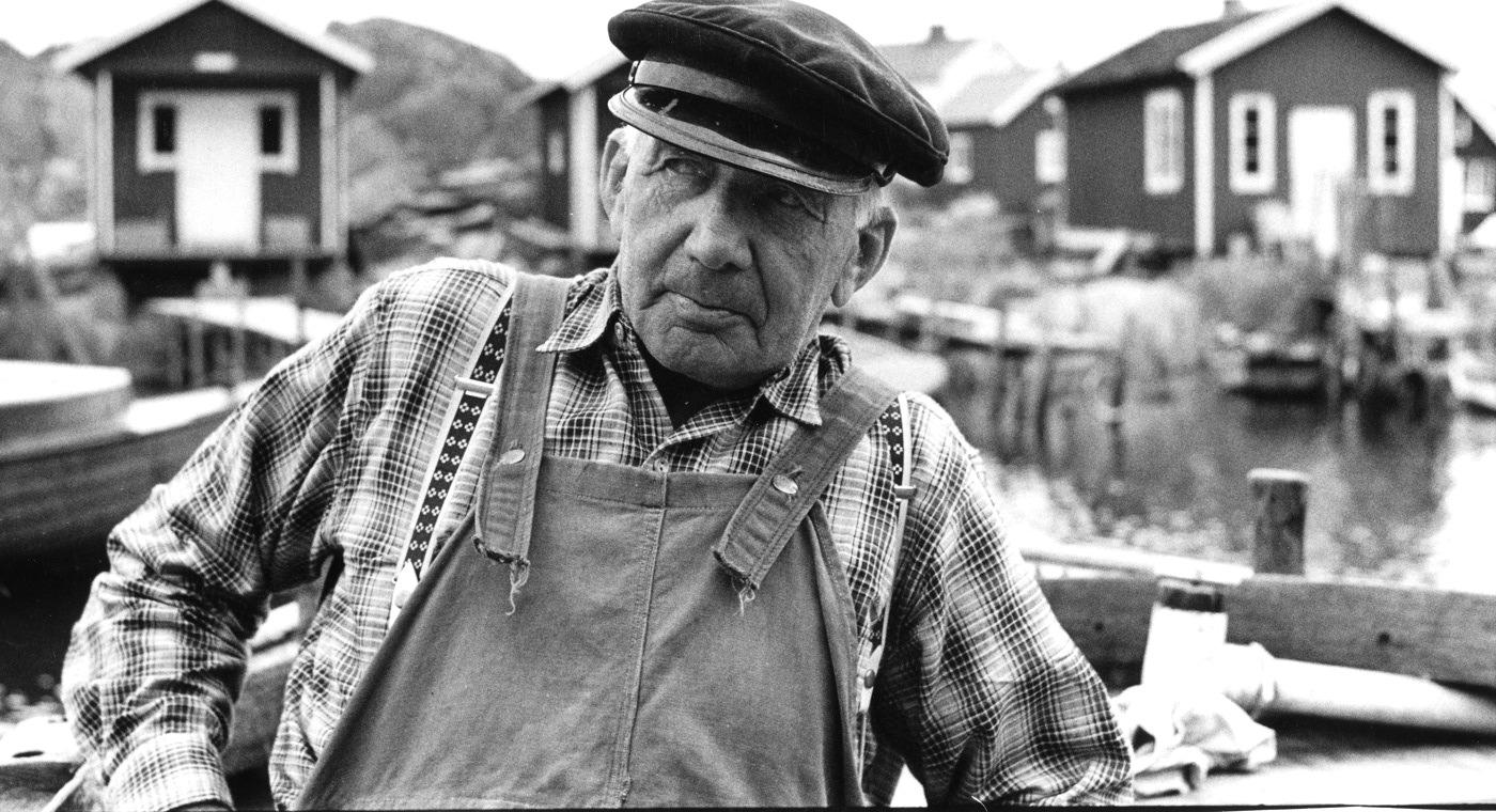 Foto Claes Funck. Mansporträtt 1963.