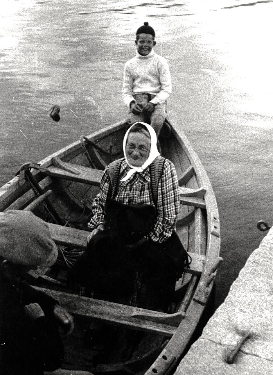 35 Anna Karlsson - Anna i Skogen ca 1950 (EAS)