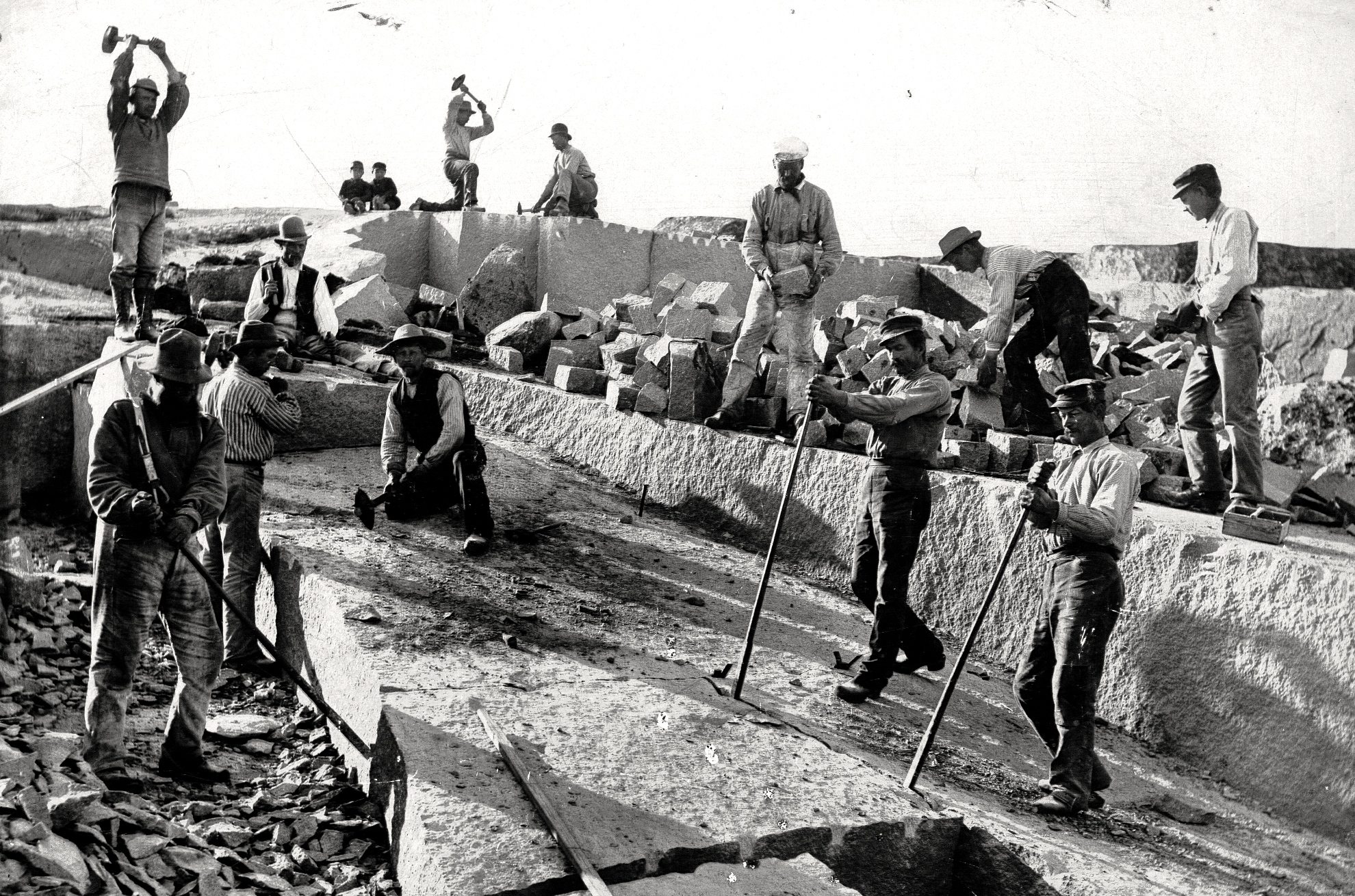 43 Klockebrottet ca 1910 (GHM)
