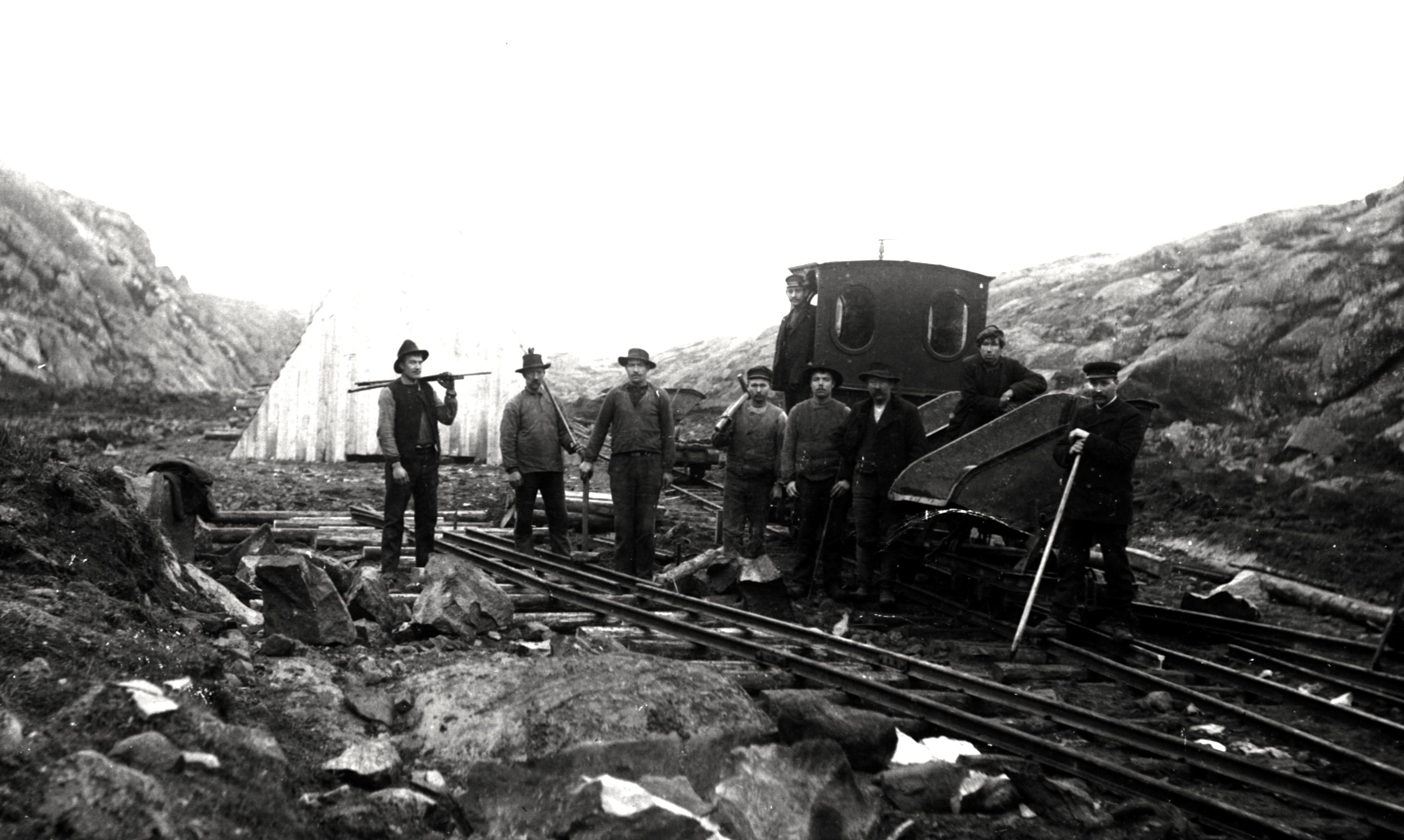 J‰rnv‰gsbygget 1908