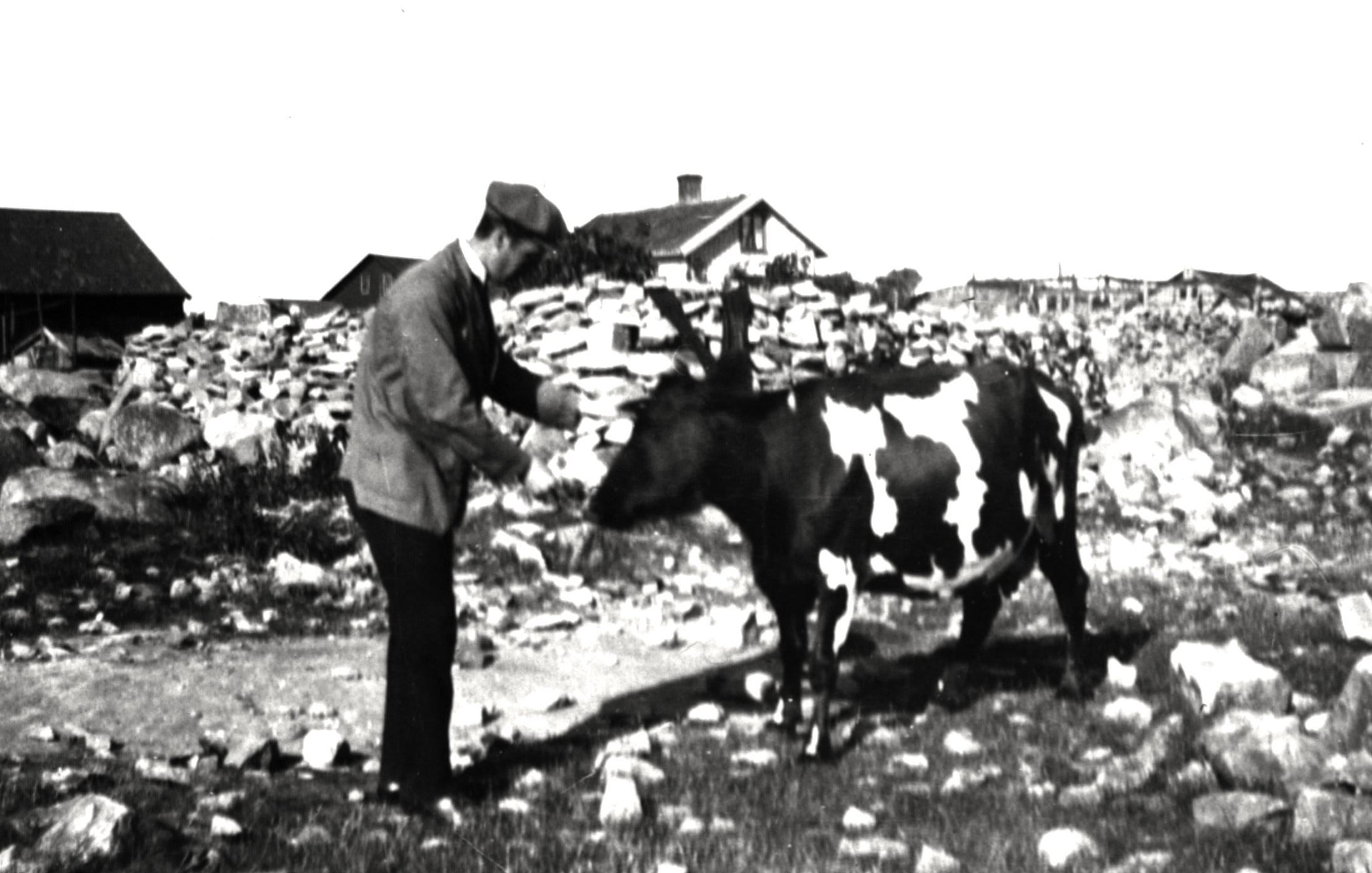 67 Kon Grevinna och Harry Carlberg omkr ca 1922. Långe Verkst