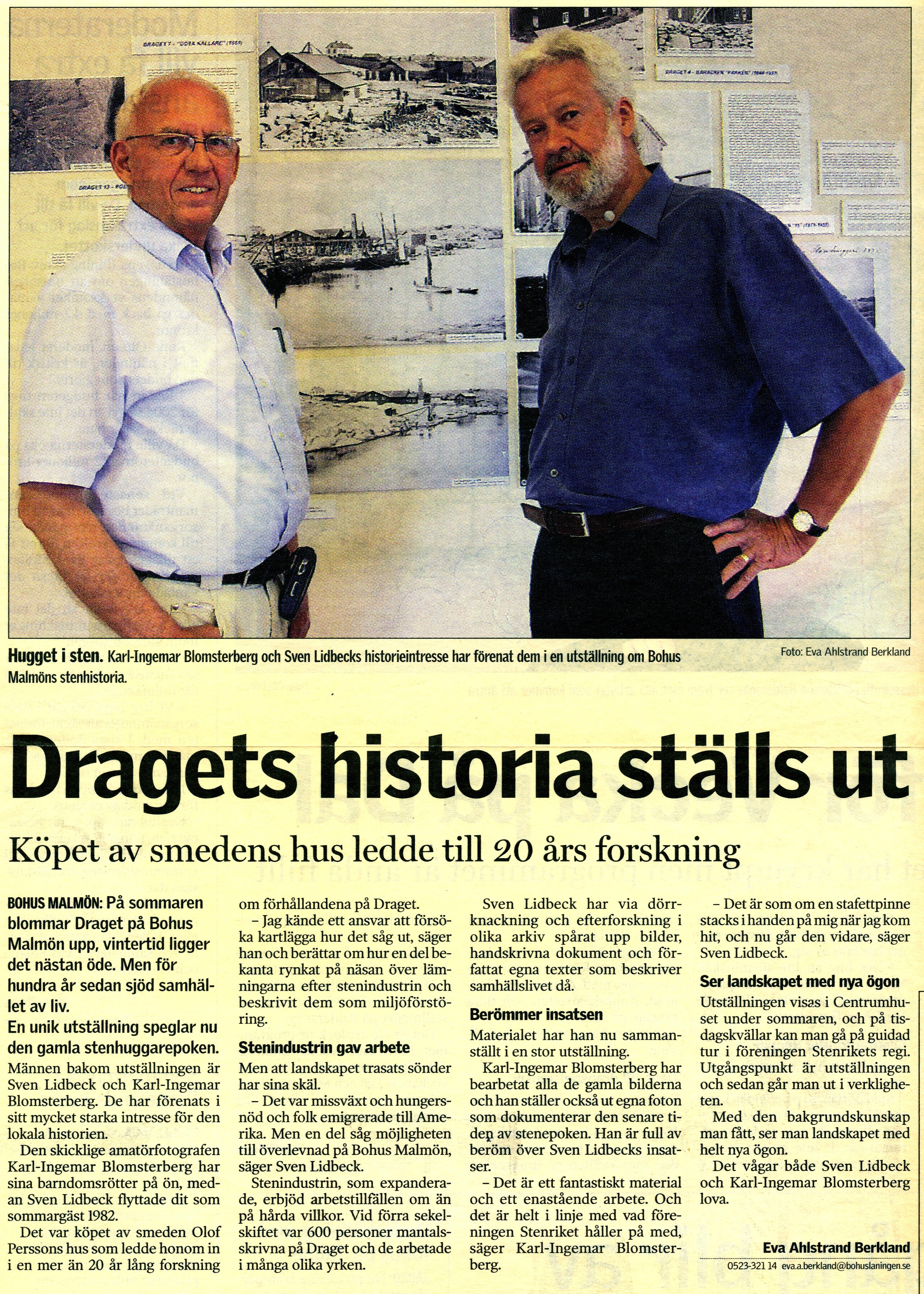 Bohusläningen 9 juli 2004